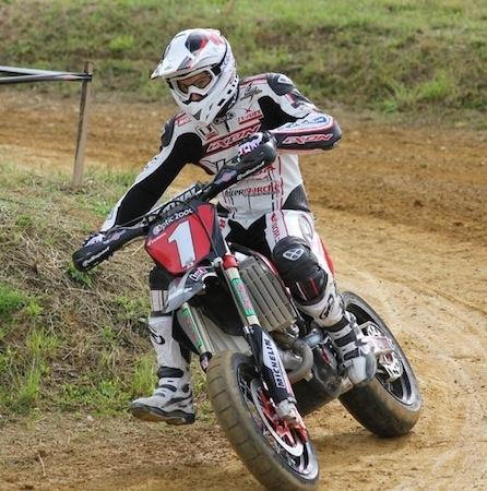 Supermotard championnat de France 2011, Lohéac: Bidart reprend les commandes...