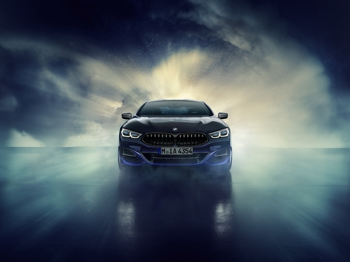 BMW M850i Night Sky : poussières de météorite