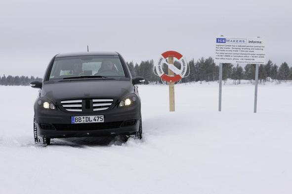 Mercedes : des voitures Classe B à l'hydrogène en série limitée dès 2010