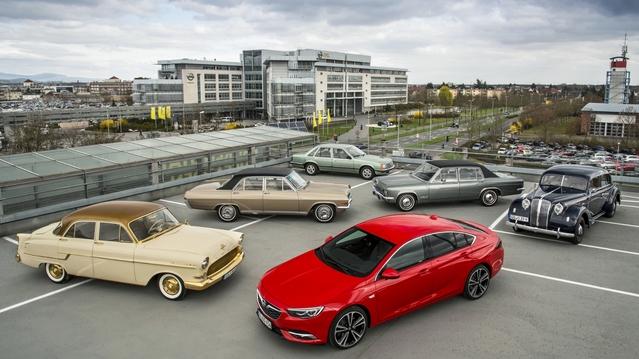 Techno Classica 2017 : les grandes berlines Opel à l'honneur