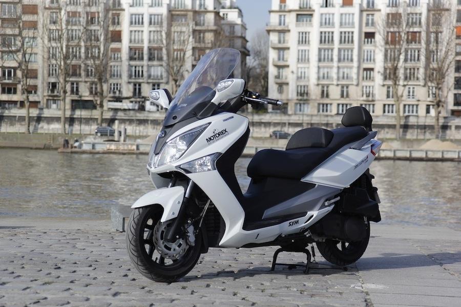 Essai Sym GTS 125 ABS Stop&Start : une montée en gamme