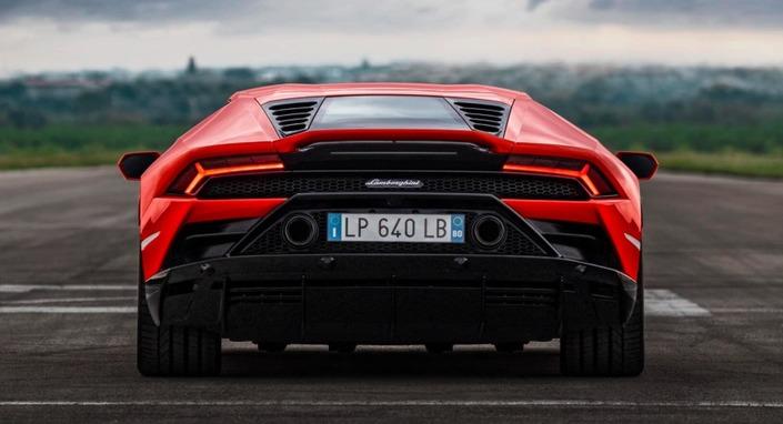 Lamborghini dévoile l'Huracan restylée