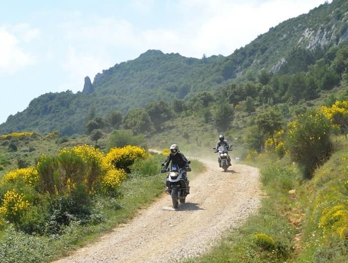 Cathare Moto Trail: la vidéo 2017