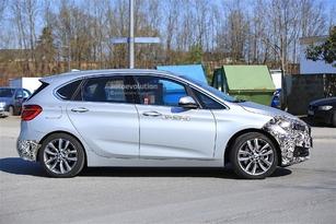 La BMW Série 2 Active Tourer prépare son passage au bistouri