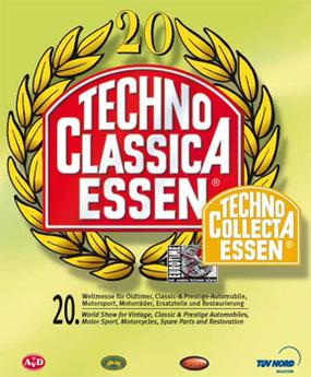 Salon Techno Classica/Allemagne : Concept de moteur Mercedes DiesOtto