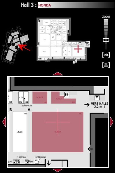 Guide des stands : Honda - Hall 3