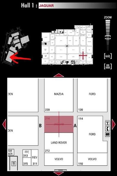 Guide des stands : Jaguar - Hall 1