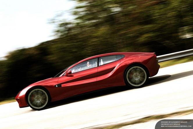 Une proposition de Ferrari Quattroporte