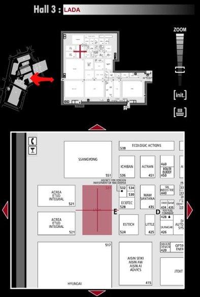 Guide des stands : Lada - Hall 3