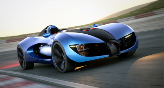 Bugatti TypeZero: simple concept...