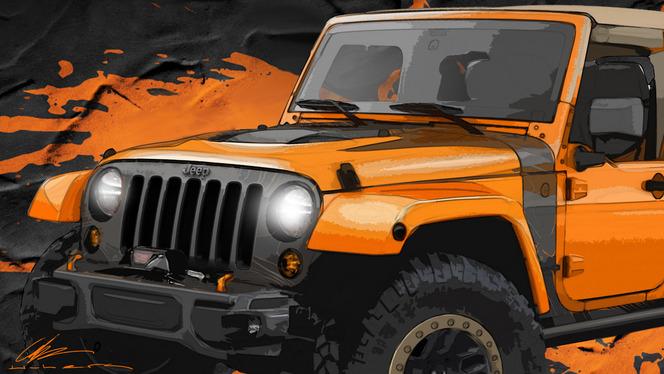 Moab Easter Safari 2014 : les Jeep Wrangler Mojo et Cherokee Dakar annoncés