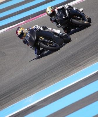 Tours de piste au Castellet en novembre prochain.