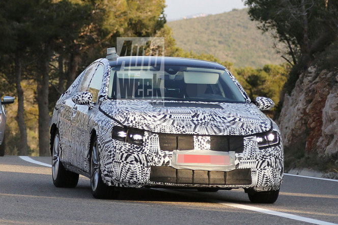 Surprise : la future VW Passat de sortie