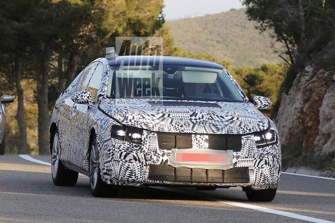 Surprise : la future VW Passat de sortie