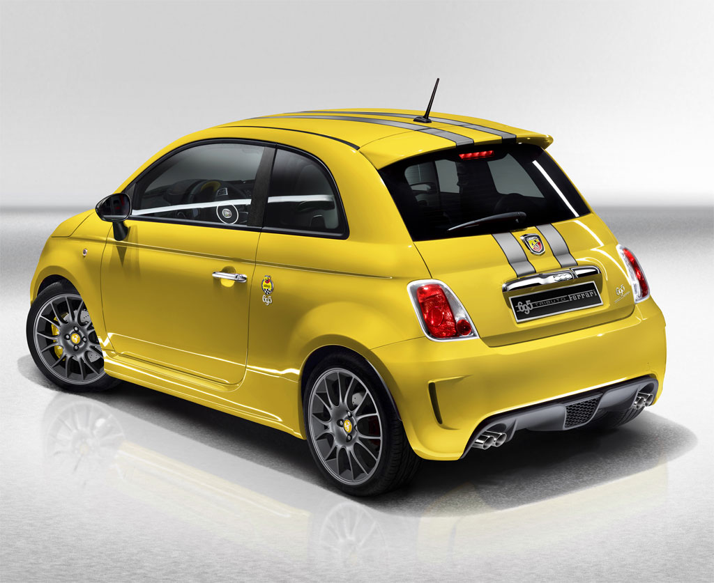 abarth 500 tributo ferrari en jaune pour changer. Black Bedroom Furniture Sets. Home Design Ideas