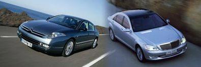 Citroën C6/Mercedes Classe S : confrontation improbable?
