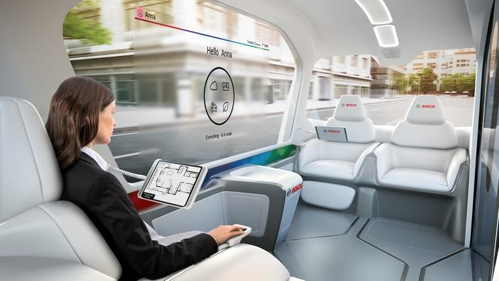 Bosch présente sa vision du véhicule urbain de demain - En direct du salon de Las Vegas.