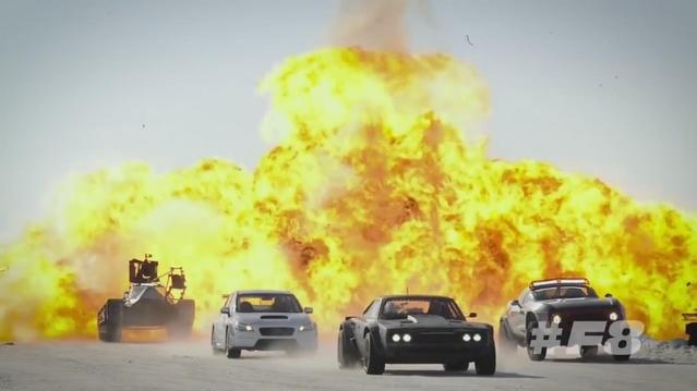 Les films Fast & Furious responsables de 486 000 000 € de biens détruits