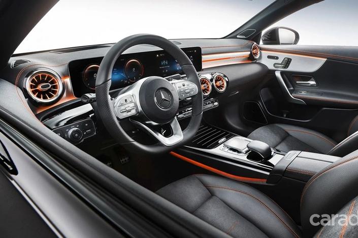 Nouvelle Mercedes CLA: les premières photos en fuite