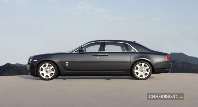 Rolls-Royce Ghost : version longue en préparation