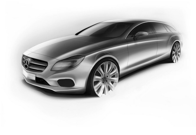 Il n'y aura pas de descendance au Mercedes CLS Shooting Brake