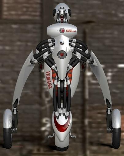 Yamaha Deus Ex Machina : un super Segway / mélange d'exosquelette et de moto