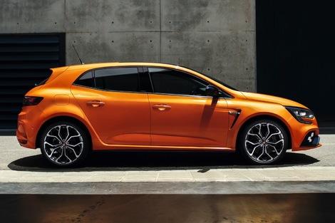 La Mégane RS est maintenant une 5 portes.
