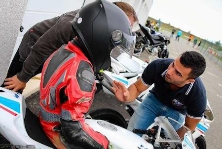 FFM, École de Motocyclisme Itinérante: Di Méglio présent sur le circuit HGK, près de Toulouse.