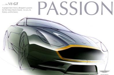 Aston Martin V8 Vantage GT: une fort jolie étude