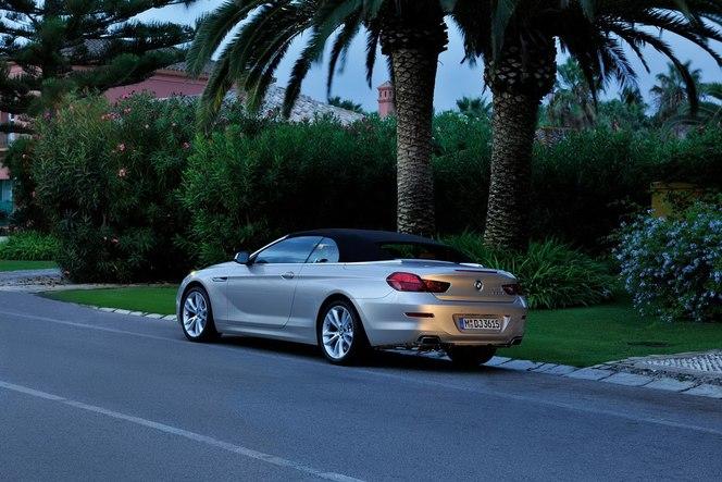 Officiel : BMW lève le voile sur la nouvelle Serie 6 Cabriolet