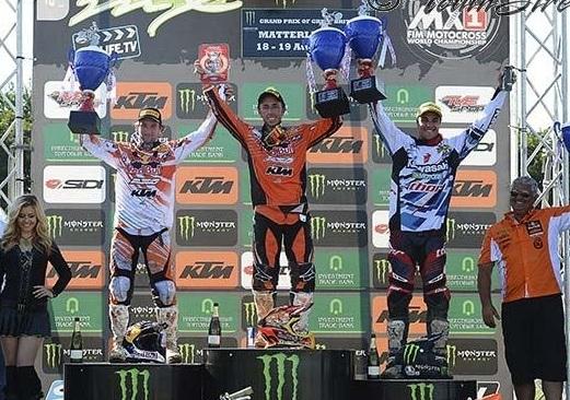 Motocross  GP d'Angleterre : MX 1, Cairoli assomme les prétendants au titre