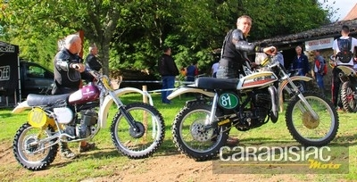 Finale du Championnat de France Motocross Anciennes 2015: la catégorie Vintage.