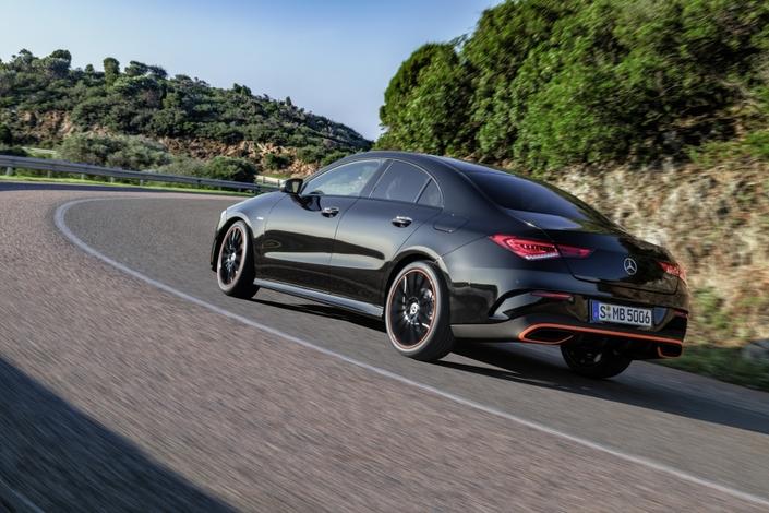 Mercedes dévoile la nouvelle CLA- Vidéo en direct du salon de Las Vegas 2019