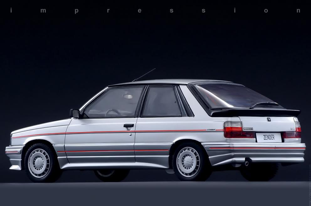 1985 Renault 11 Turbo Zender Dark Cars Wallpapers
