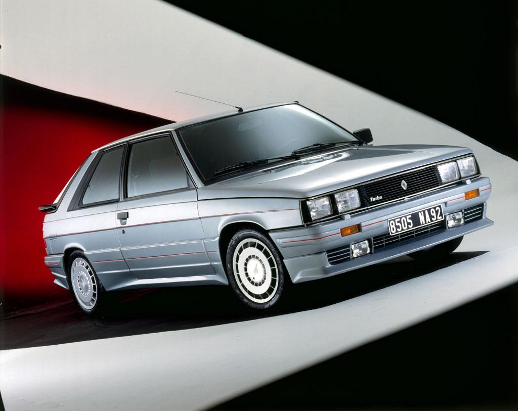 1985 renault 11 turbo zender dark cars wallpapers. Black Bedroom Furniture Sets. Home Design Ideas