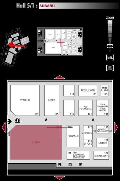 Guide des stands : Subaru - Hall 5/1