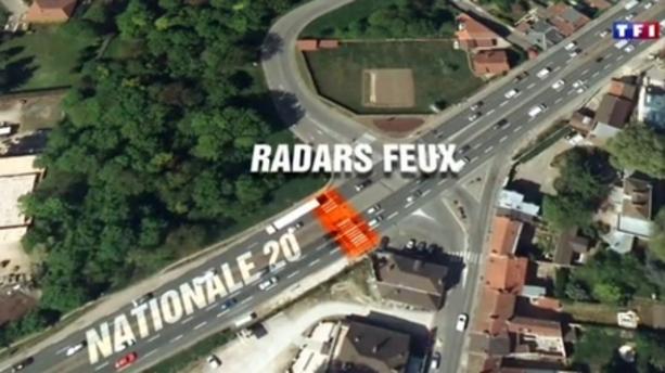 """RN20 : la maire de Linas convoqué au commissariat pour son panneau """"Attention freinages brutaux"""""""