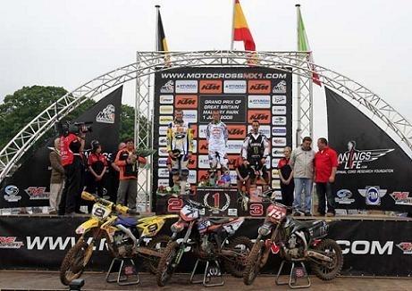 Barragan gagne en MX1 en Angleterre