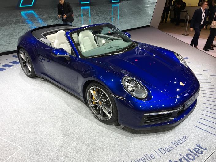 Porsche 911Cabriolet: cheveux au vent - Vidéo en direct du Salon de Genève 2019