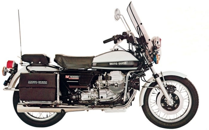 moto guzzi 1000 convert premi re moto automatique de s rie. Black Bedroom Furniture Sets. Home Design Ideas