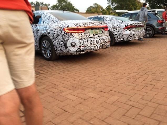 Surprise : les nouveaux feux arrière Audi sur la prochaine A7