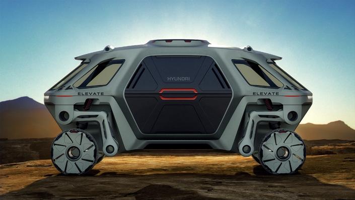 Hyundai Elevate, le premier UMV - Vidéo en direct du salon de Las Vegas