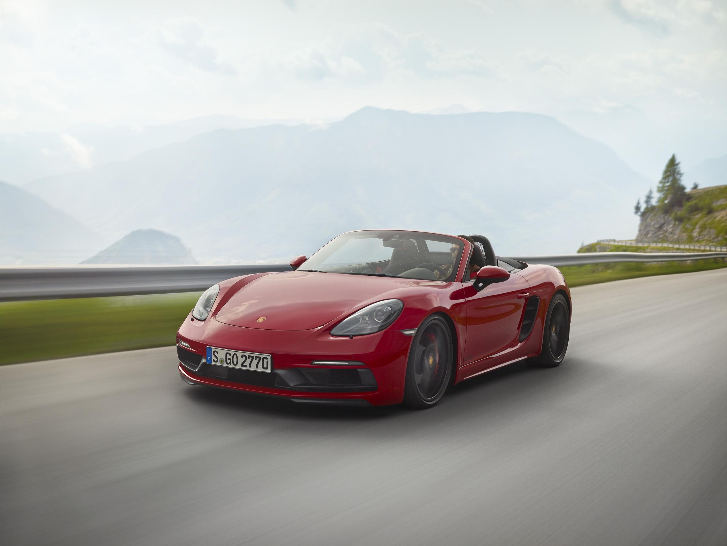 Porsche sort les muscles avec les 718 Cayman et Boxster GTS