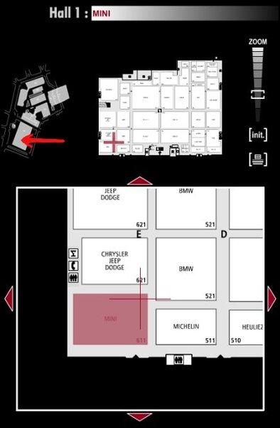 Guide des stands : Mini - Hall 1