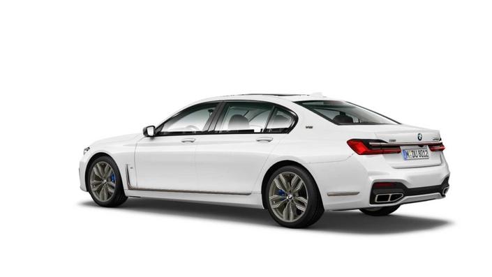 BMW : la Série 7 restylée en fuite