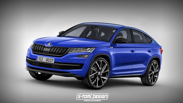 Un graphiste imagine le futur Skoda Kodiaq Coupé