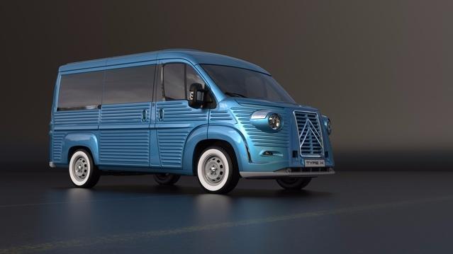 Citroën : transformez votre Jumper en Type H néo-rétro