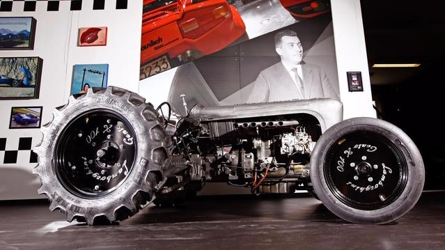 Lamborghini va produire un tracteur en série limitée pour les cent ans du fondateur