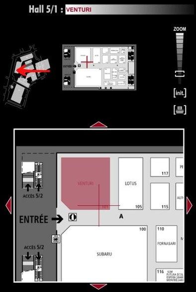 Guide des stands : Venturi - Hall 5/1
