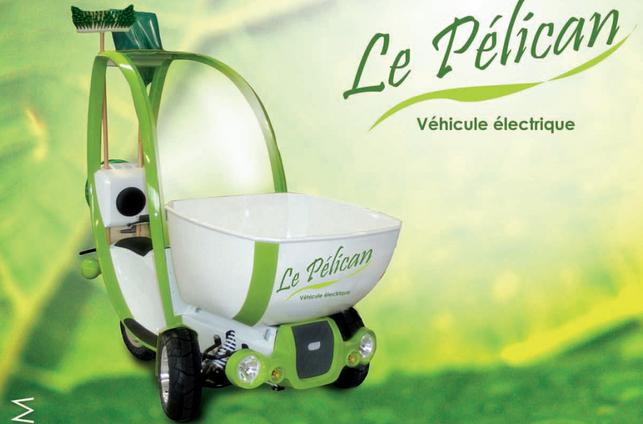 Un tricycle électrique sympa